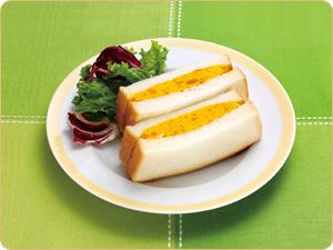 かぼちゃチーズサンド