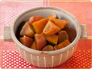 りんごとかぼちゃのほっこり煮