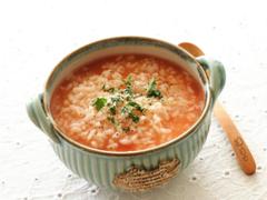 トマトのチーズお粥
