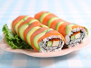 アボカド&サーモン巻き寿司
