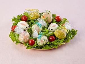 エッグハントサラダ