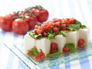 塩トマトのイタリアン冷奴