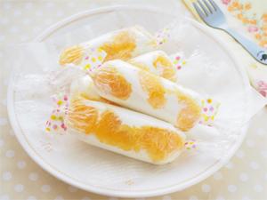 オレンジスティックレアチーズケーキ