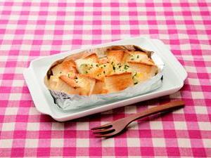 グラタン風トースト
