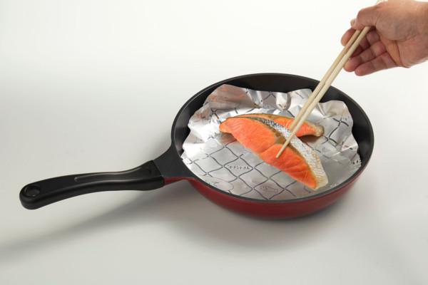 焼き魚が手軽に作れる!ホイルシートで「さけの塩こうじ焼き」