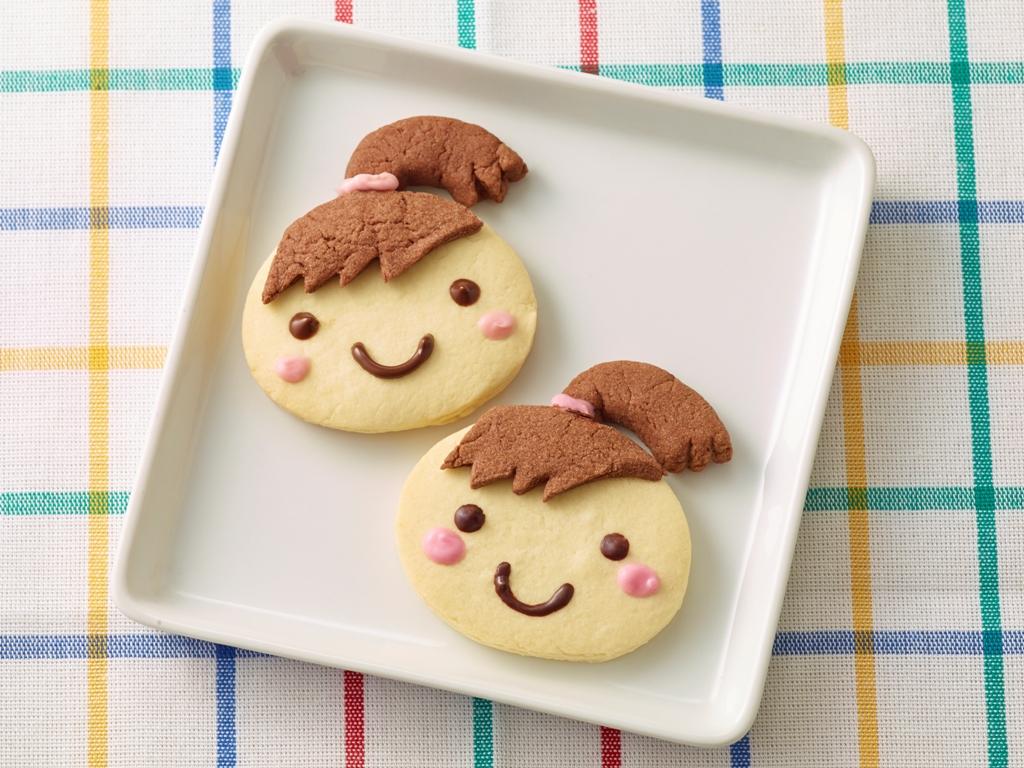 """キチントさんクッキングシートで作る """"キチントさんクッキー"""""""