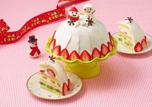 スノードーム・ケーキ