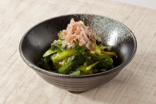 副菜:小松菜のおひたし