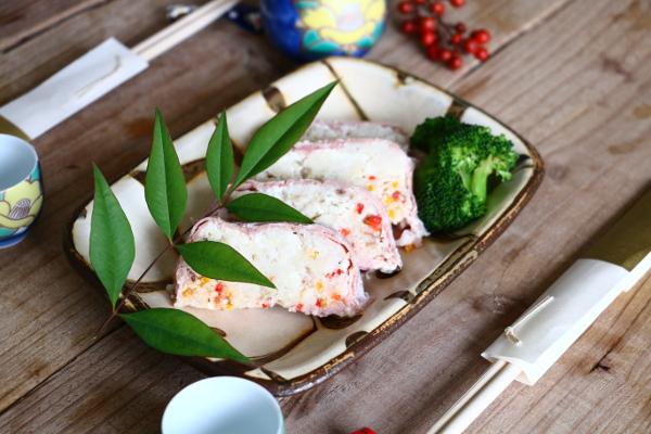 おしゃれで美味しい「白身魚と生ハムのテリーヌ」