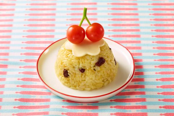 子どもが喜ぶアイデアお寿司「さくらんぼ風ケーキ寿司」