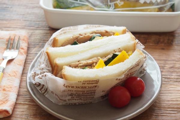 2.サンドイッチに。