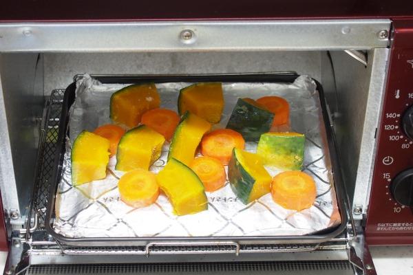オーブントースターで焼けばOK