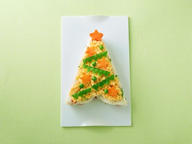 クリスマスツリー寿司