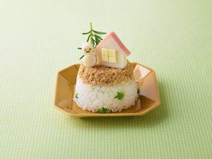 冬のおうちのケーキ寿司
