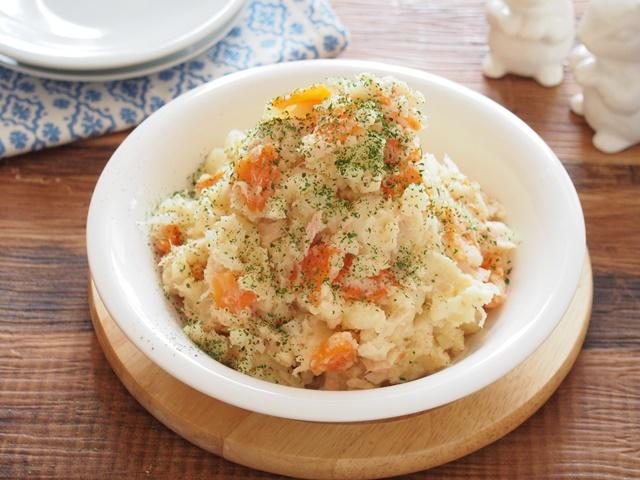 レンジで作るポテトサラダ