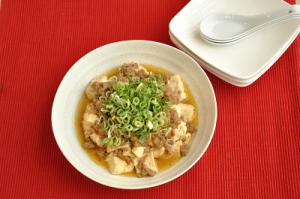 レンジで簡単!マーボー豆腐