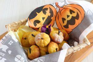 かぼちゃのスノーボールクッキー
