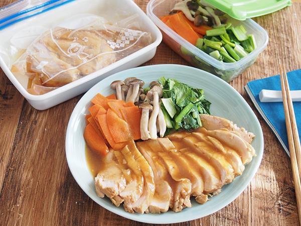 簡単!鶏むね肉の作り置きレシピ