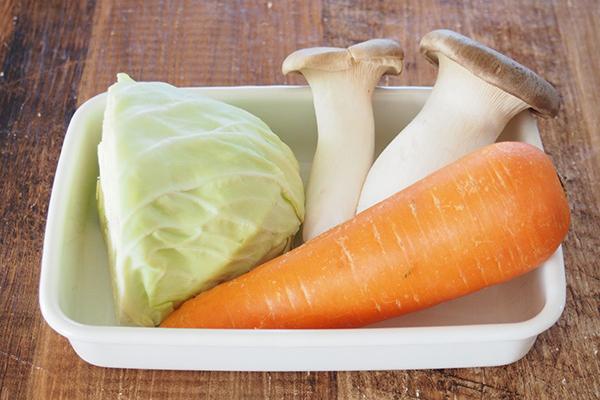 3.においやくせが少ない食材を用いる