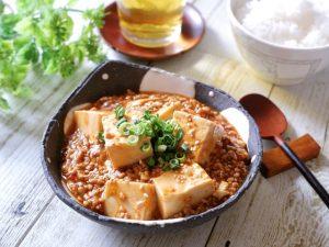 手作りマーボー豆腐の素