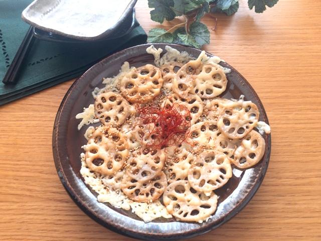れんこんのカリトロチーズ
