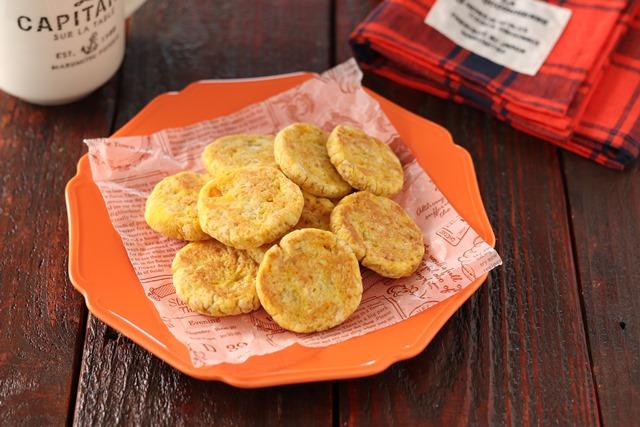 フライパンdeかぼちゃのソフトクッキー