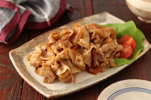 豚バラ大根の甘辛ソテー