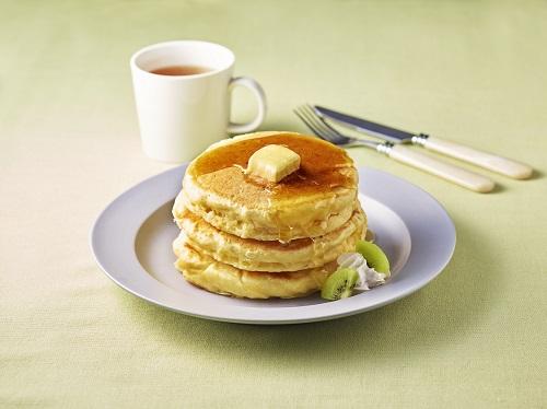 あっさりパンケーキ(+豆腐&ヨーグルト)