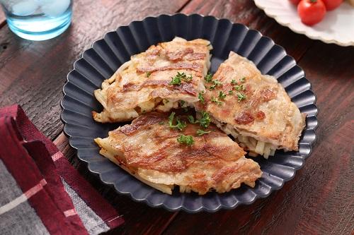 ハッシュド豚バラチーズポテト